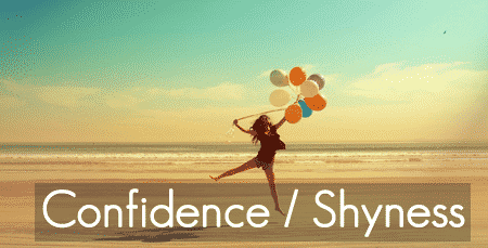 Healing confidence-shyness